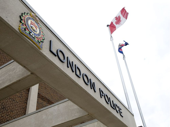 London Police headquarters (London Free Press File photo)