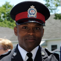 Police Officer of Colour